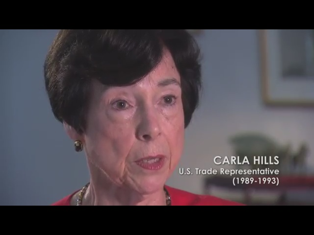 Carla Hills - U.S. Trade Representative (1989-1993)