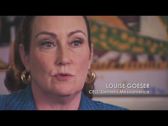 Louise Goeser - CEO - Siemens Mesoamerica