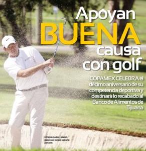 Ernesto Aviles Golfing
