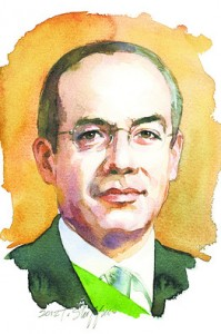 Entrevista The Wall Street Journal a Felipe Calderon Hinojosa