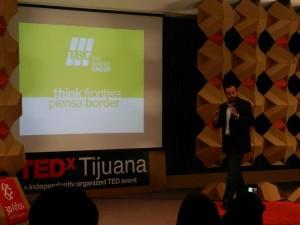 Think Border Mario Lopez, Amexica una simbiosis en la frontera México-Estados Unidos de América